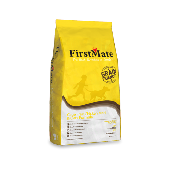 Firstmate Grain Friendly Cage Free Chicken Meal and Oats Formula 11.4kg