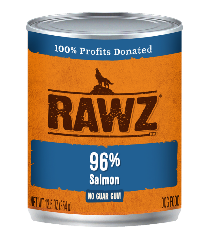 Rawz Salmon Canned Dog Food
