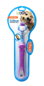 EZDog Triple Toothbrush Large