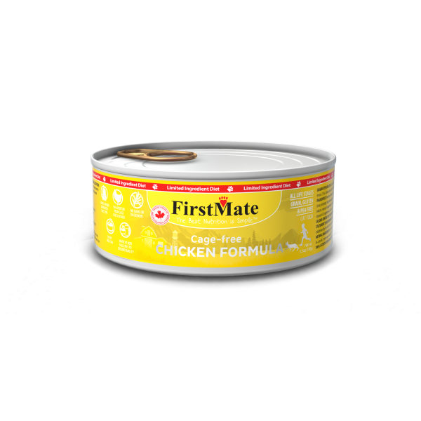 FirstMate Chicken Canned Cat Food