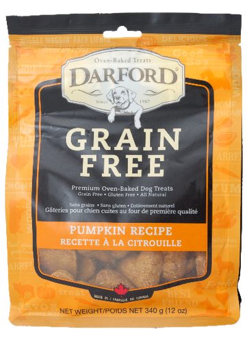 Darford Grain Free Pumpkin 340g Dog Biscuits