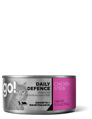 GO Daily Defence Chicken Stew Canned Cat Food