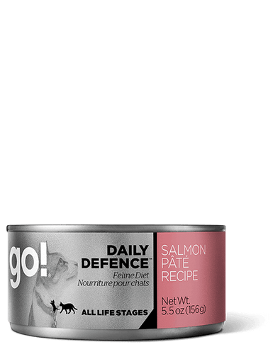 GO Daily Defence Salmon Pate Canned Cat Food