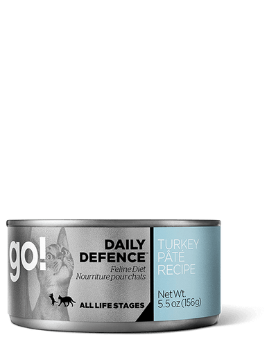 GO Daily Defence Turkey Pate Canned Cat Food