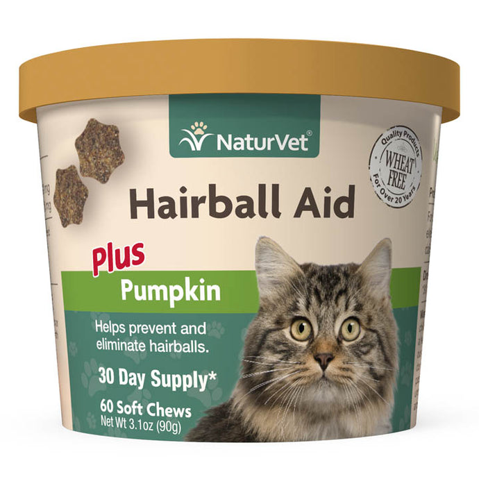 NaturVet Hairball Aid 90g CatSupplement