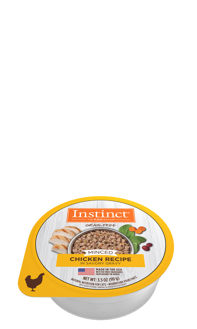 Instinct Chicken Minced Wet Cat Food