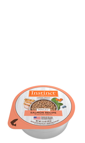 Instinct Salmon Minced Wet Cat Food