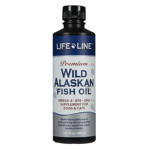 LifeLine Fish Oil 473ml Skin and Coat Supplement