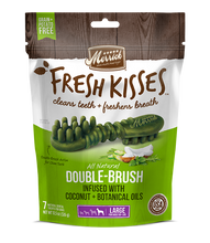 Load image into Gallery viewer, Merrick Fresh Kisses Coconut Oil Large Dental Dog Treats