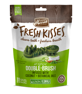 Merrick Fresh Kisses Coconut Oil Extra Small Dental Dog Treats