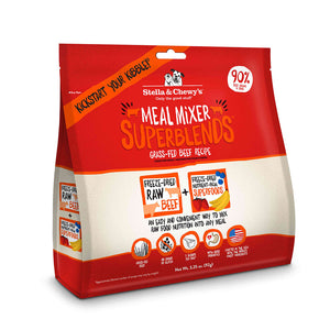 Stella & Chewys Super Beef Freeze Dried Dog Food