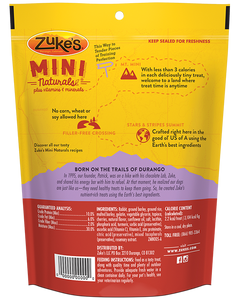 Zuke's Naturals Rabbit Dog Treats