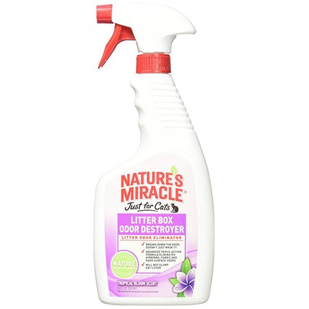 Nature's Miracle Litter Destroyer 681ml Cat