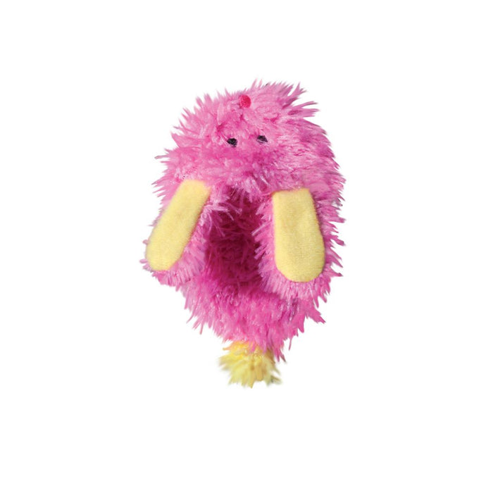 Kong Cat Catnip Fuzzy Slipper Cat Toy