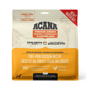 Acana Free-Run Chicken Morsels 227g Freeze Dried Dog Food
