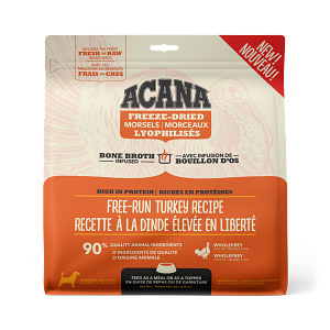 Acana Free-Run Turkey Morsels 227g Freeze Dried Dog Food