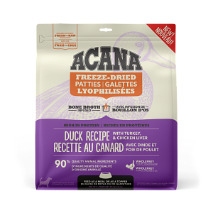 Acana Duck Patties 397g Freeze Dried Dog Food