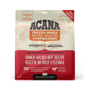 Acana Ranch-Raised Beef Patties 397g Freeze Dried Dog Food