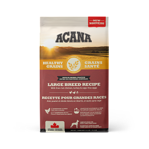 Acana Healthy Grains Large Breed Dry Dog Food