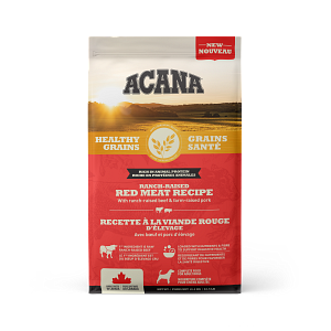 Acana Healthy Grains Ranch-Raised Red Meat Dry Dog Food