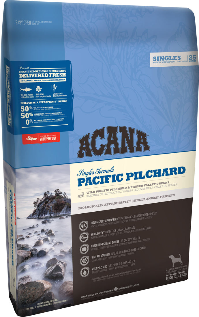 Acana Singles Pacific Pilchard Dog Food