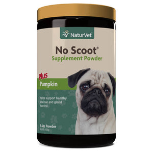 NaturVet 155g No Scoot Powder Dog Supplement