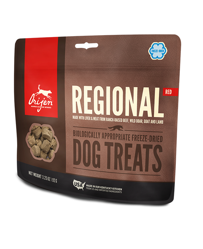 Orijen Regional Red Freeze Dried Dog Treats