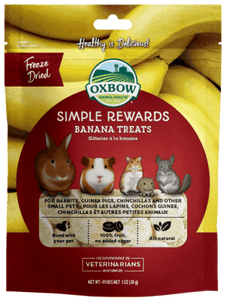 Oxbow Rewards Banana 30g