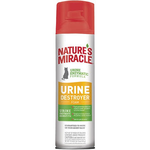 Nature's Miracle Urine Destroyer Foam 517ml Cat