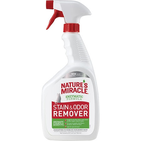 Nature's Miracle Stain and Odour Remover Spray 946ml Cat