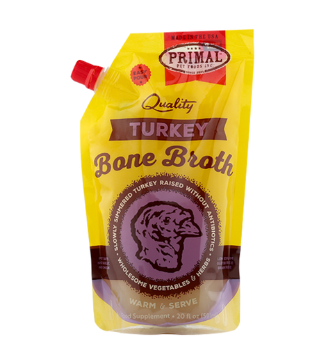 Primal Bone Broth 591ml Turkey