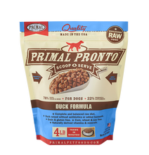 Load image into Gallery viewer, Primal Pronto 4lbs Duck Raw Dog Food