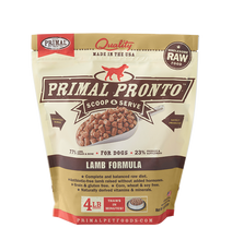 Load image into Gallery viewer, Primal Pronto 4lbs Lamb Raw Dog Food