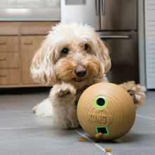 Load image into Gallery viewer, Kong Bamboo Feeder Ball Dog Toy