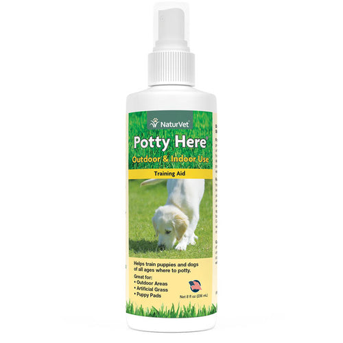 NaturVet Potty Here 236ml Dog Supplement