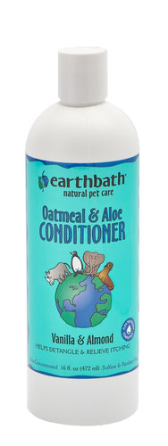 Earthbath 472ml Oatmeal & Aloe Conditioner Vanilla & Almond