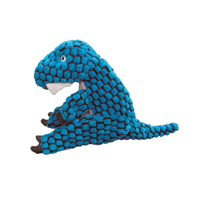 Kong Dynos T-Rex Blue Extra Small Dog Toy