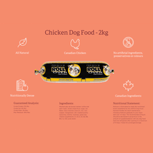 Load image into Gallery viewer, Rollover Premium Chicken Dog Food
