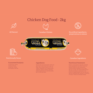 Rollover Premium Chicken Dog Food