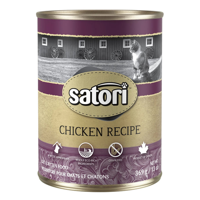 Satori Chicken Canned Cat Food
