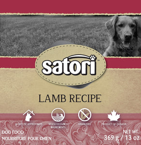 Satori 369g Lamb Canned Dog Food