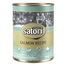 Load image into Gallery viewer, Satori Salmon Canned Cat Food