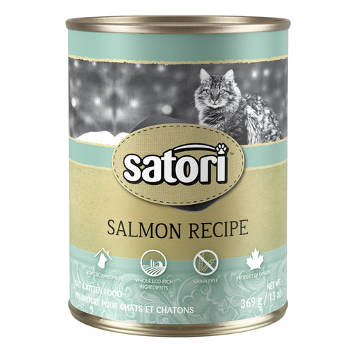 Satori Salmon Canned Cat Food