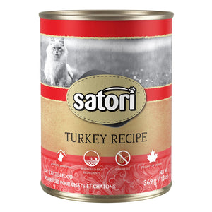 Satori Turkey Canned Cat Food
