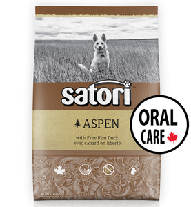 Satori Aspen Duck Oral Care Dental Dry Dog Food