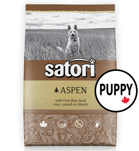 Satori Aspen Duck Puppy Dry Dog Food