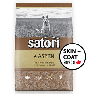 Satori Aspen Duck Skin and Coat Support Dry Dog Food