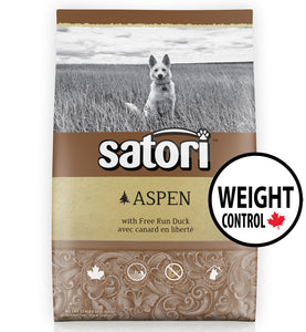 Satori Aspen Duck Weight Control Dry Dog Food
