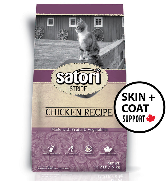 Satori Chicken Skin and Coat Support Dry Cat Food