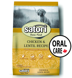 Satori Oven Fresh Chicken Oral Care Dental Dog Food